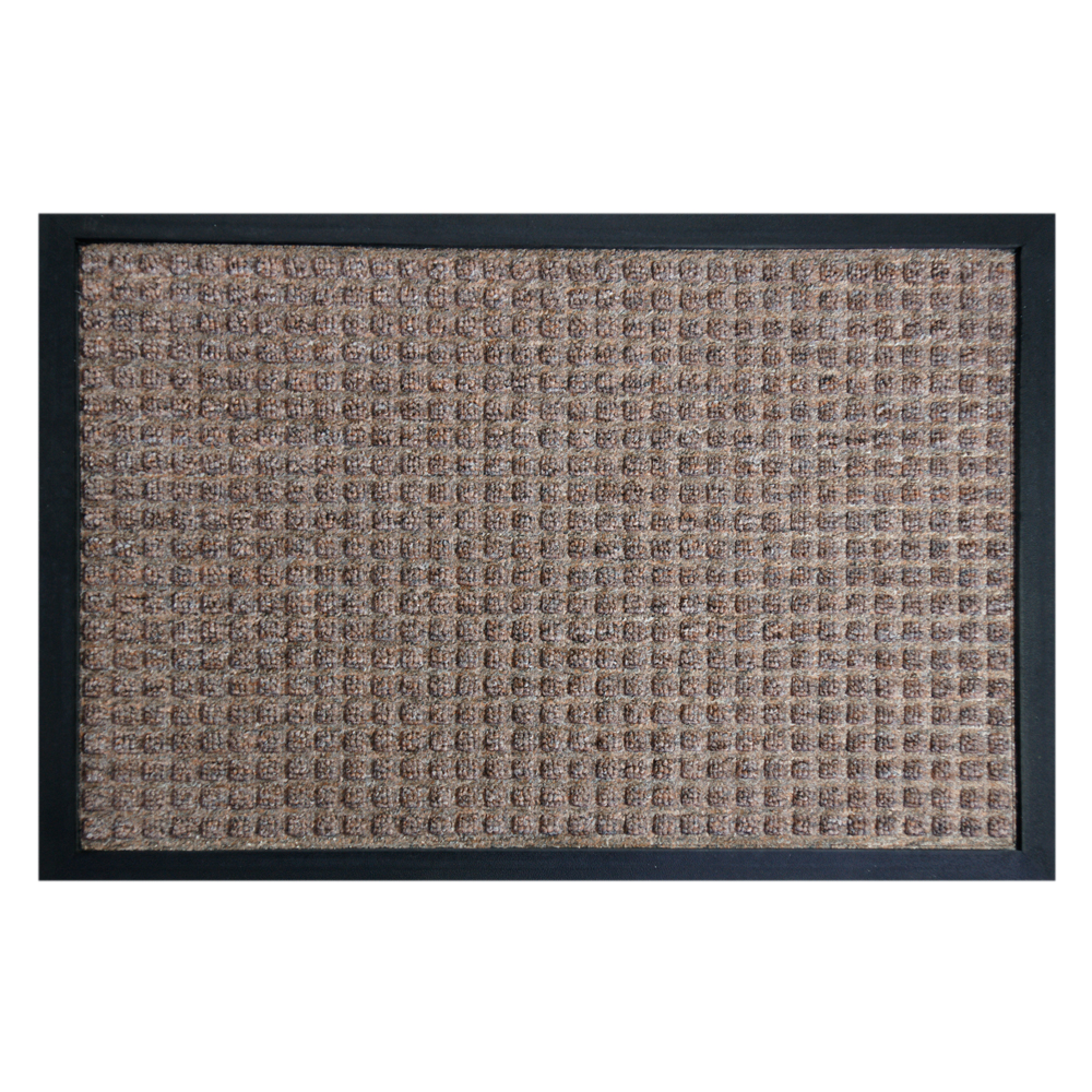 Rubber-Cal Nottingham Entryway Mat - 24 x 36 inches - Brown Entryway Rug at Sears.com
